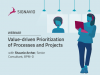 Value-driven Prioritization of Processes and Projects