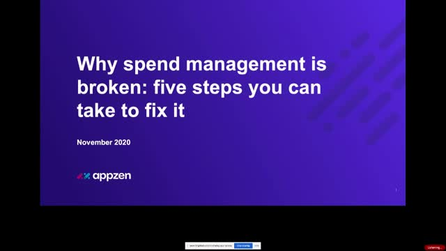 Why spend management is broken: five steps you can take to fix it
