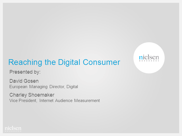Reaching the Digital Consumer: Three Trends to Watch