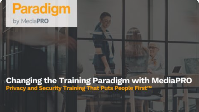 Changing the Training Paradigm with MediaPRO