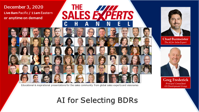 AI for Selecting BDRs
