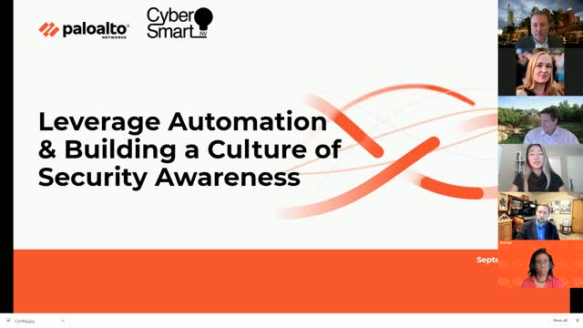 Leverage Automation & Building a Culture of Security Awareness