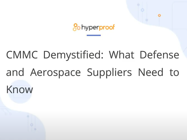 CMMC Demystified: What Defense and Aerospace Suppliers Need to Know