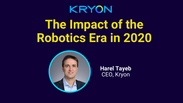 The Impact of the Robotics Era in 2020