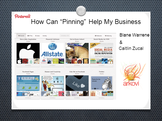 "How Can ""Pinning"" Help Your Advisory Business?"