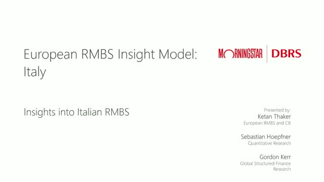 Insights into Italian RMBS