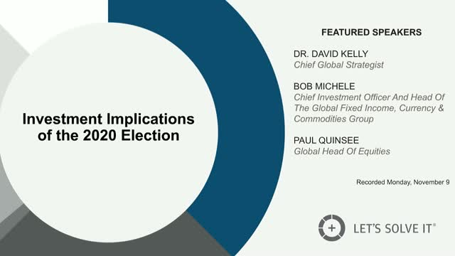 Investment implications of the 2020 election