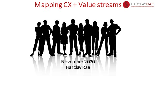 Mapping Customer Experience and Value Streams