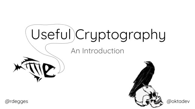 An Introduction to Cryptography for Developers