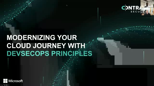 How to Modernize Your Azure Journey with DevSecOps Princples