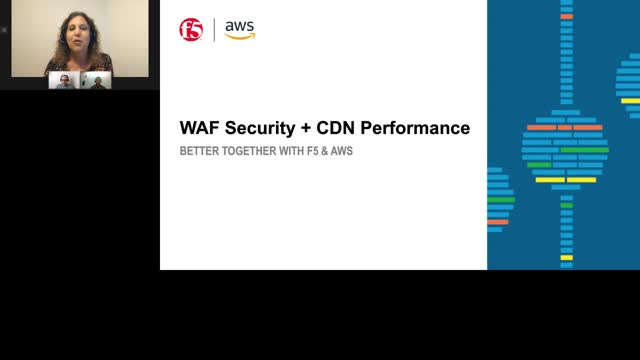 WAF Security + CDN Performance:  Better together with F5 and AWS