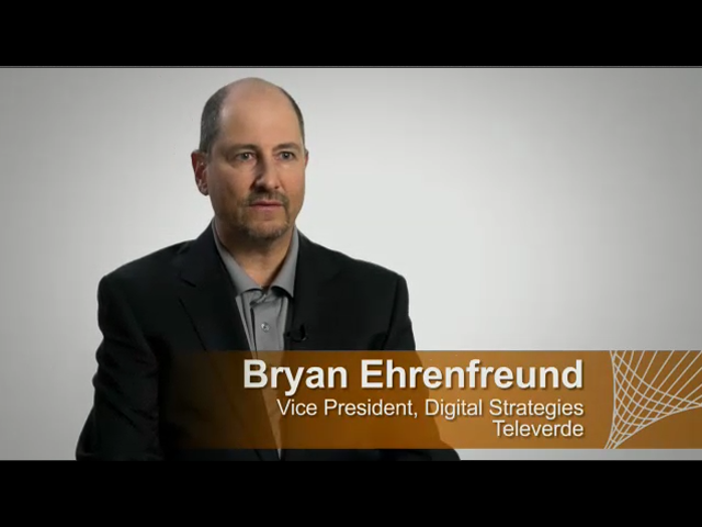 Interview with Bryan Ehrenfreund (VP of Digital Strategies at Televerde)