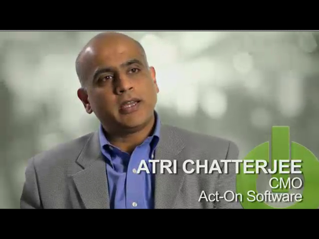 Interview with Atri Chatterjee (CMO at Act-On Software)