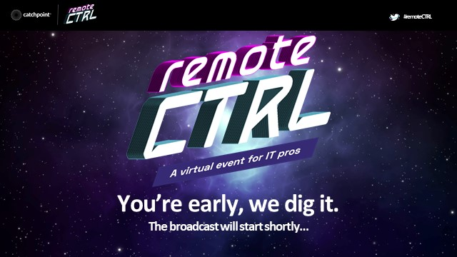 Remote CTRL: Adapting IT to Your Distributed Workforce