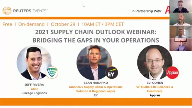 2021 Supply Chain Outlook with Reuters: Bridging the Gaps in Your Operations