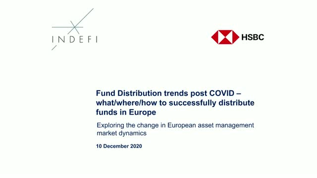 Fund Distribution trends post COVID - what/where/how to successfully distribute