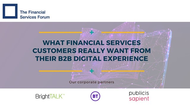 What Financial Services Customers Really Want From Their B2B Digital Experience
