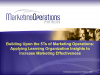 Learning Organization Insights and Marketing Effectiveness