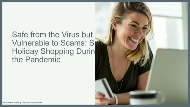 Secure Holiday Shopping During the Pandemic