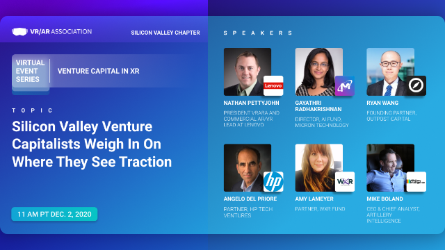 Venture Capital in XR: Silicon Valley VCs Weigh In on Where They See Traction.