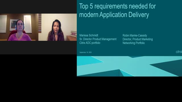 Top 5 requirements needed for modern Application Deliver