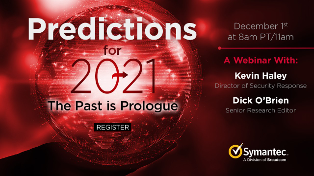 Predictions for 2021: The Past is Prologue