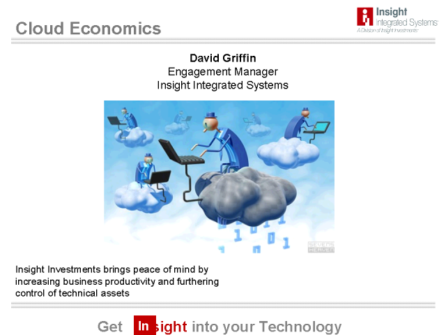 Cloud Economics: Where it makes sense economically