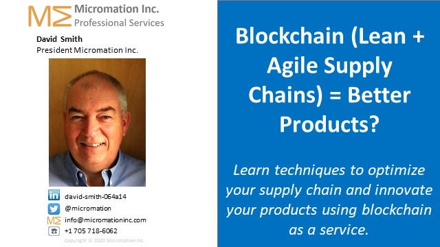 Lean + Agile Supply Chains = Better Products?