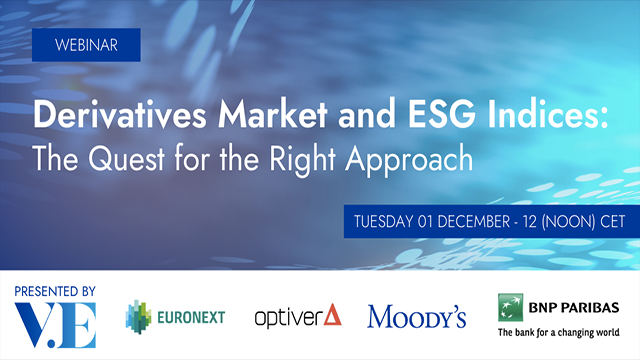 Derivatives market and ESG indices: the quest for the right approach
