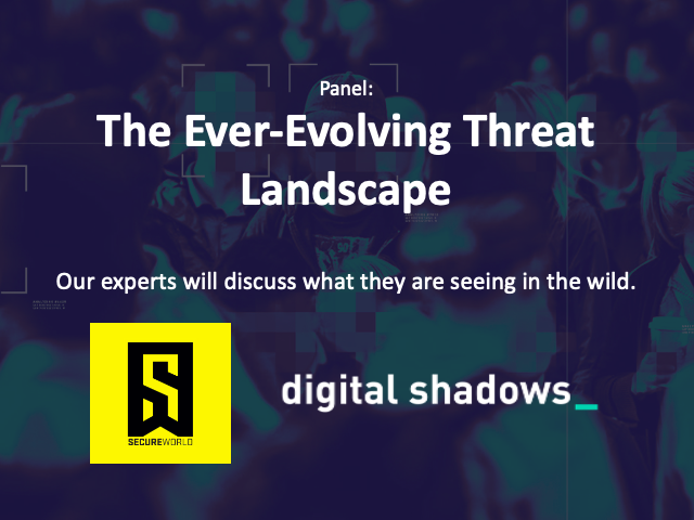 [Panel] The Ever-Evolving Threat Landscape