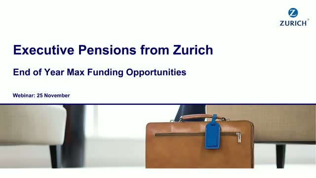 Exec Pensions - End of Year Opportunities