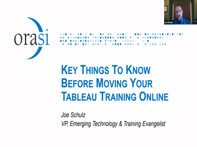 Key Things To Know Before Moving Your Tableau Virtual Training Online
