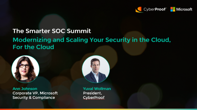 Modernizing and Scaling Your Security in the Cloud, For the Cloud