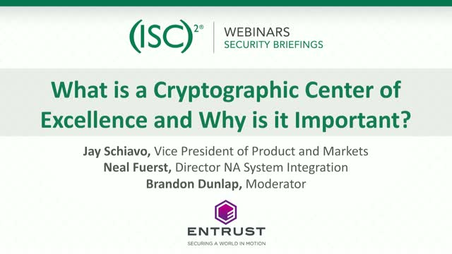 What is a Cryptographic Center of Excellence and Why is it Important?