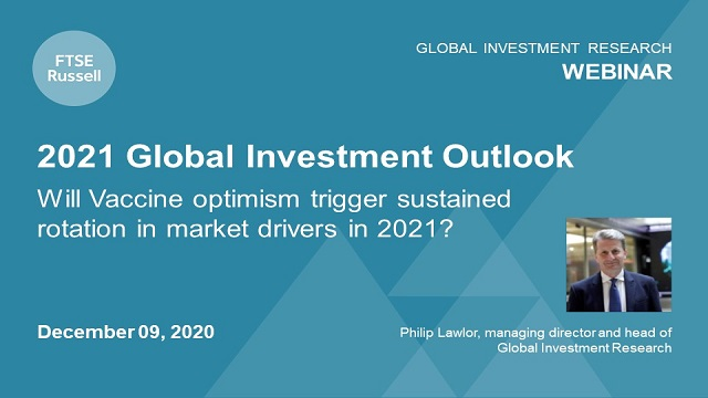 """2021 Global Investment Outlook: Will vaccines be a """"shot"""" for market rotation?"""