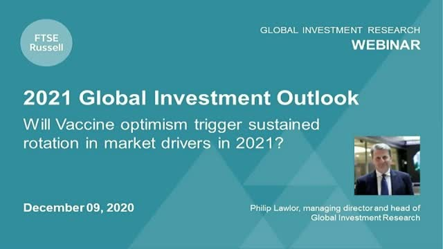 2021 Global Investment Outlook. For investors in the Americas