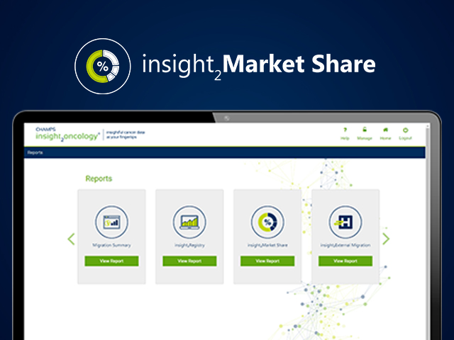 insight2oncology® Demonstration: insight2Market Share