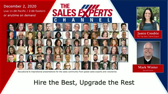 Hire the Best, Upgrade the Rest