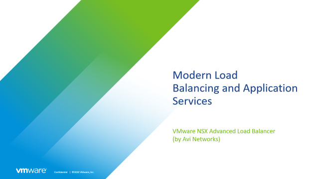 Redefining Load Balancing & Application Services