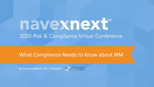 What Compliance Needs to Know about IRM
