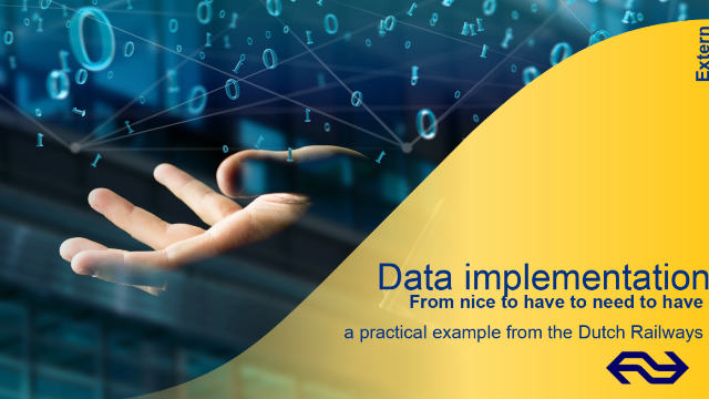 Data implementation: From nice to have to need to have – a practical example