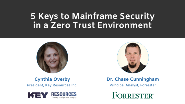 Zero-Trust: The Missing Piece to Mainframe Security