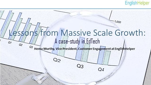Lessons from Massive Scale Growth – A case study in EdTech