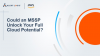 Could an MSSP Unlock Your Full Cloud Potential?