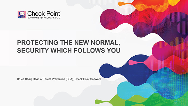 Protecting the new Normal, security which follows you