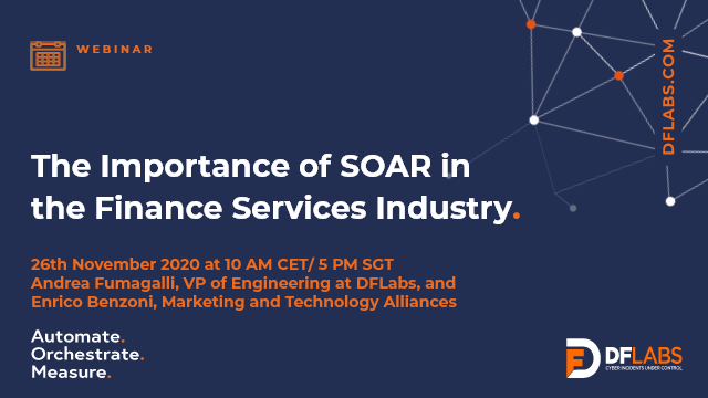 The Importance of SOAR in the Finance Services Industry