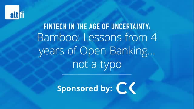 Bamboo: Lessons from 4 years of Open Banking… not a typo