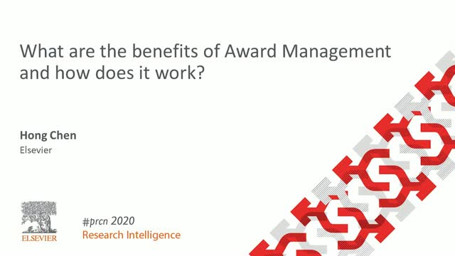 #PRCN2020: What are the benefits of Award Management and how does it work?