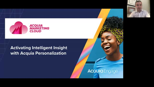 Activating Intelligent Insight with Acquia Personalization