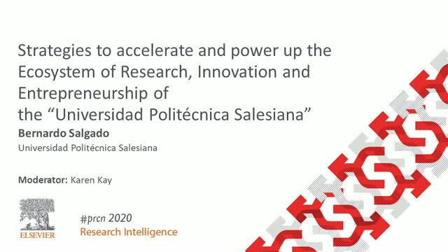 #PRCN2020: Strategies to accelerate Research, Innovation and Entrepreneurship
